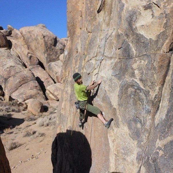 Rock Climbing Photo: lonepine