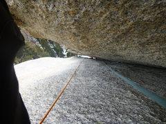 Rock Climbing Photo: Enjoyable chimneying with perfect granite all arou...