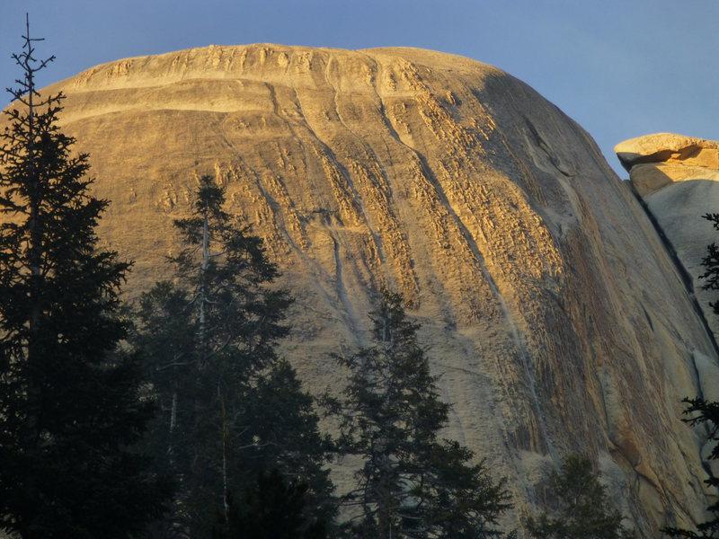 Large South Face of Santa Cruz Dome
