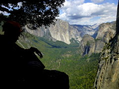 Rock Climbing Photo: Amazing views from the top of 7th pitch. Plush bel...
