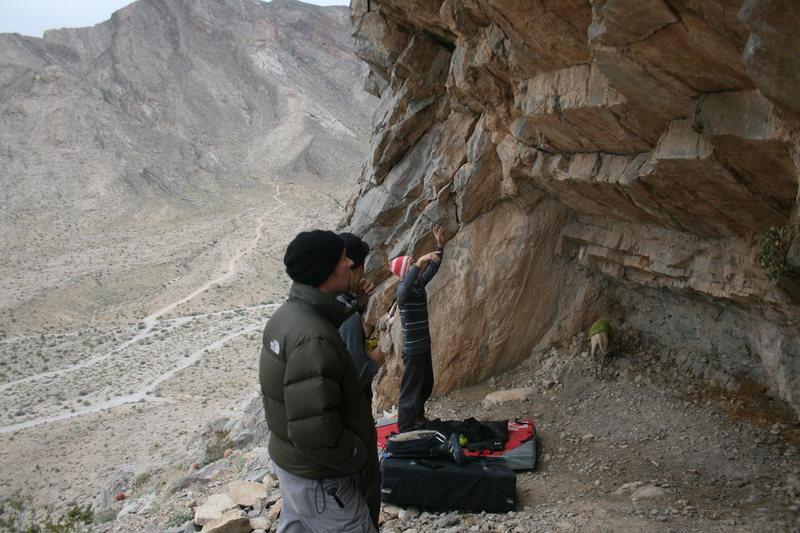 bouldering