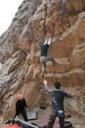 Rock Climbing Photo: decisions