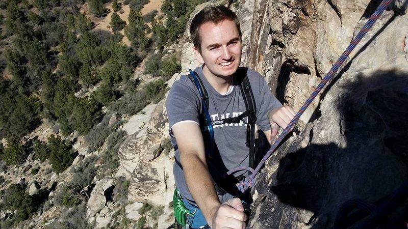 Rock Climbing Photo: Climb at Prophesy Wall
