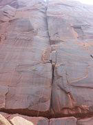 Rock Climbing Photo: The line.