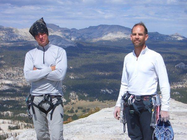 Rock Climbing Photo: Top of Fairview Dome