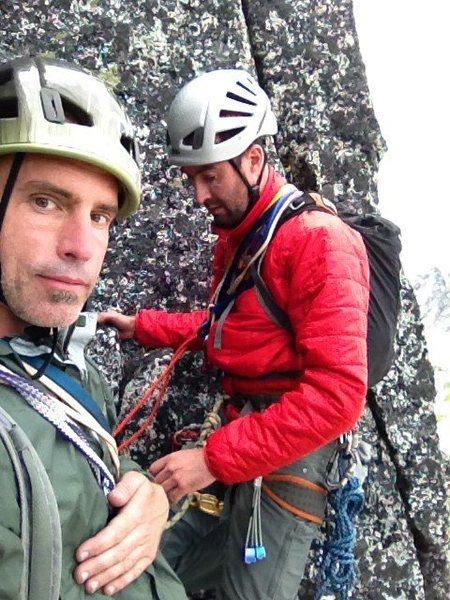 Climbing in the Washington Cascades with Frank and company.