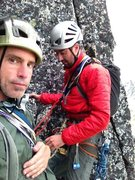 Rock Climbing Photo: Climbing in the Washington Cascades with Frank and...