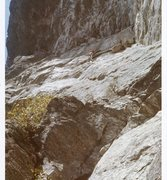 Rock Climbing Photo: Diff Ritchie and Bob Rotert on first ascent of GBM...