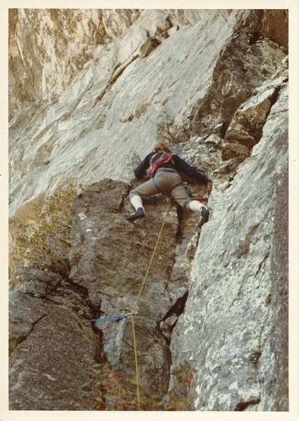 Diff Ritchie leading on first ascent of GBM
