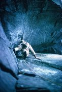 Rock Climbing Photo: Diff Ritchie on the Seal in 1974
