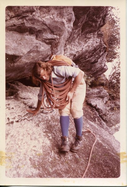Diff Ritchie guiding on Whitesides in the 70's