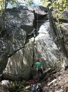 Rock Climbing Photo: I believe this is Tun Tavern. We started at the bo...