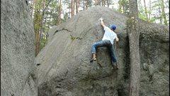 Rock Climbing Photo: Slobadon (V5)