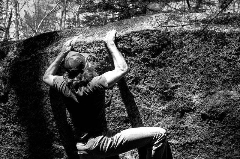 Rock Climbing Photo: Ians Favorite Problem (V5)