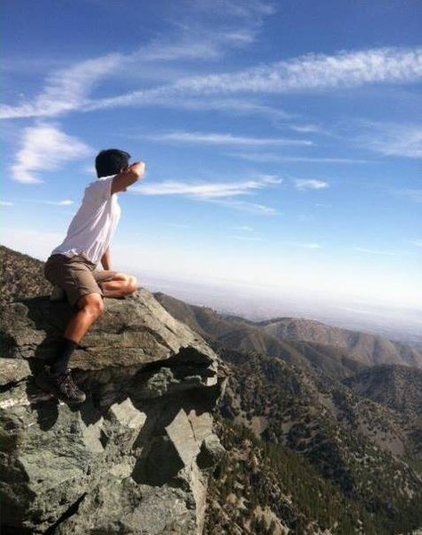 Rock Climbing Photo: Mt Baldy.