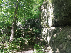 One of the Southernmost sections of the escarpment.