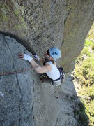 Rock Climbing Photo: After a brief thin section (10b? good gear) you ge...