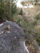 Rock Climbing Photo: calculus 5.8 apron squamish