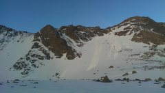Rock Climbing Photo: Easy snow/mixed line