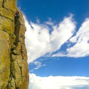 Rock Climbing Photo: Nice sunny day on North Table.