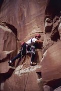 Rock Climbing Photo: Brad Bond starting pitch 1 of the Dickfour, first ...