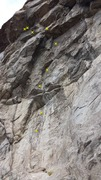 Rock Climbing Photo: Smack and Spray.