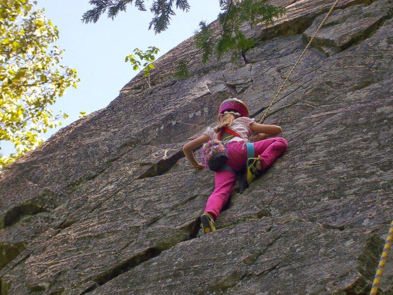 Rock Climbing Photo: Kid
