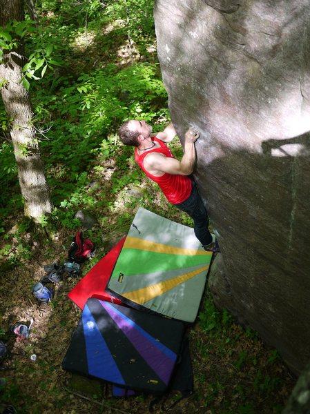 Rock Climbing Photo: Satermo on AP