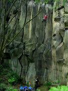 Rock Climbing Photo: Finsterlay's Cracks!