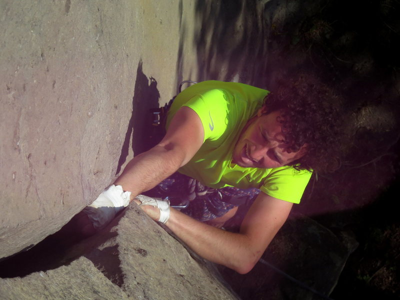 Rock Climbing Photo: Climbing Handriss