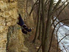 Rock Climbing Photo: Jeremy on Bovine