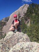 Rock Climbing Photo: Hobo's exposed summit has good views of Satan's Sl...