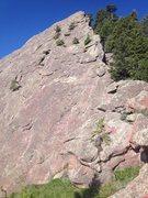 Rock Climbing Photo: Follow the right ridgeline.