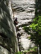 Rock Climbing Photo: Sam I Am. Awesome Tom Souders crack.