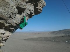 Rock Climbing Photo: Gman JR ascends Siege Ladder