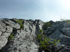 Rock Climbing Photo: Crappy get your rope stuck rap