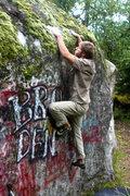 Rock Climbing Photo: playing in the bro den