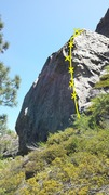 Rock Climbing Photo: Gum Drop Arete