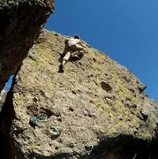 Rock Climbing Photo: Camping in Fossil Creek, AZ. Couldn't pass this on...
