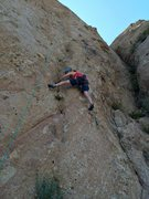 "Rock Climbing Photo: Getting to the solid black patina on ""Black G..."