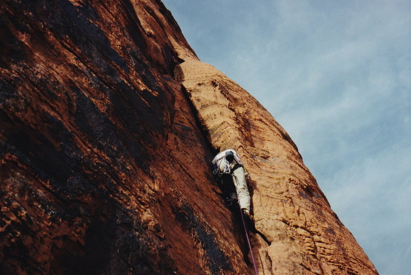 Rock Climbing Photo: I think this is Uncle Reamus.