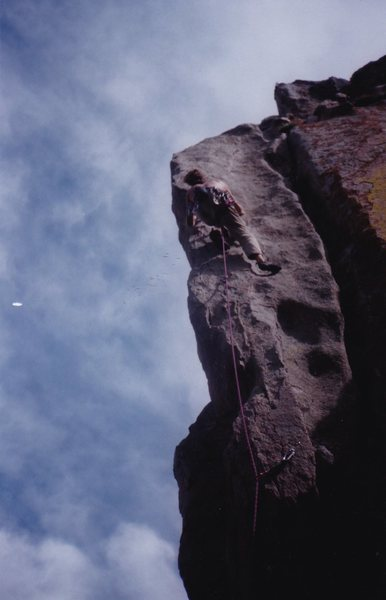 Rock Climbing Photo: It's been a while but I remember thin climbing on ...