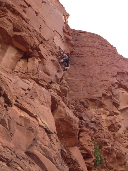 Rock Climbing Photo: Fully bolted now