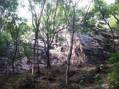 Rock Climbing Photo: The whole view
