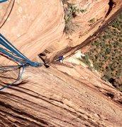 Rock Climbing Photo: Last Corner Pitch, F-ing classic!!!