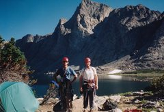 Rock Climbing Photo: Ron and I before our ascent of Musembeah.