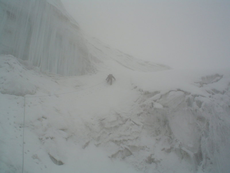 Rock Climbing Photo: Iliniza Sur, Ecuador