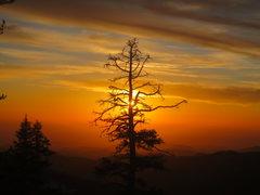 Rock Climbing Photo: Tokopah Valley is beautiful during sunsets