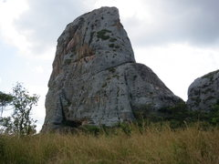 Rock Climbing Photo: Don't be fooled by the picture, the grass is about...