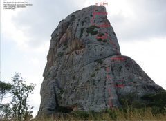 Rock Climbing Photo: Nice casual route for a half-day outing after goin...